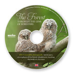 The forest through the lens of foresters - Las w obiektywie leśników na płycie CD